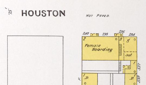 Houston Street - Female Boarding